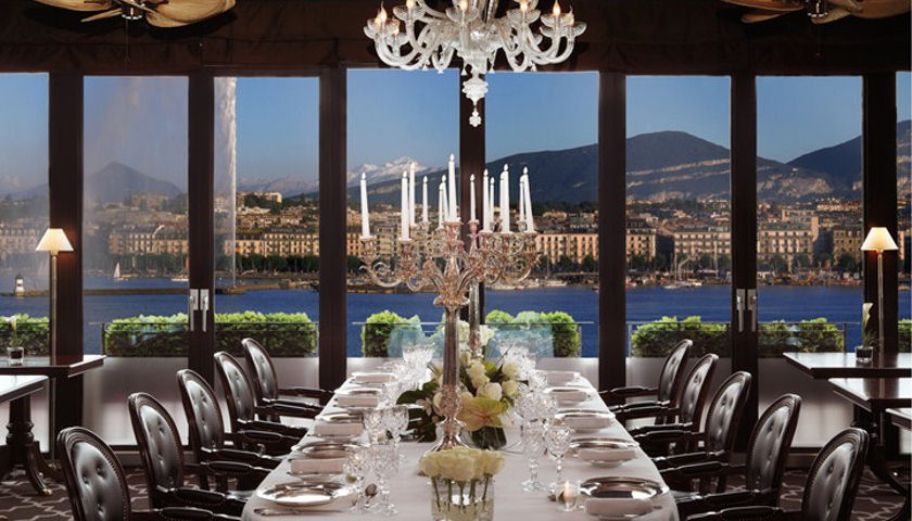 Hotel D'Angleterre dining