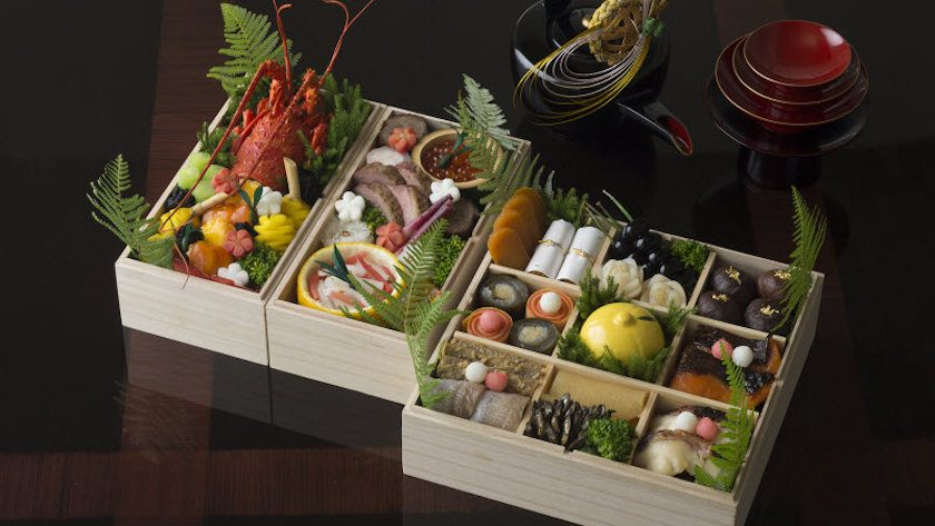 Traditional Japanese New Year's foods