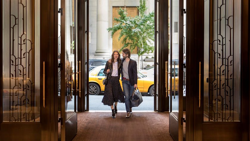 Four Seasons Hotel New York Downtown entrance