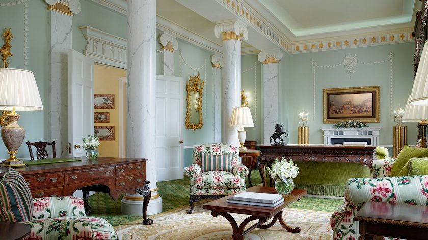 The Lanesborough presidential suite